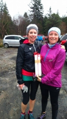 Joint First Females: Claire McFadden and Suzanne Longster