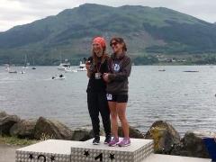 Marion Mcmillan and Jean Mclennan at the Cowaly Way Chase 2018