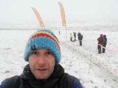 Ian at the finish