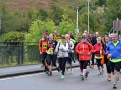 Mamores Half Marathon Start
