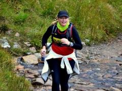 Mamores Half Marathon - Michelle Cameron