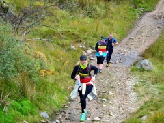 Mamores Half Marathon - Michelle and Ali