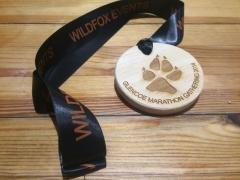 Glencoe Marathon medal