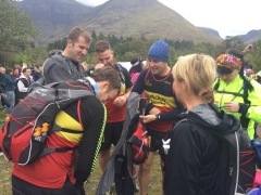 Glencoe Marathon start