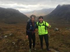 Glencoe Marathon - Kirsty Mundell and Elaine Graham