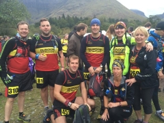 Some of the DHR team at Glencoe
