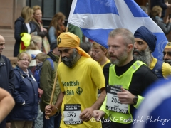 Scottish Sikhs were well represented