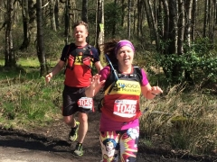 Relay Leg 2 - Kenny Taylor and Linda Good