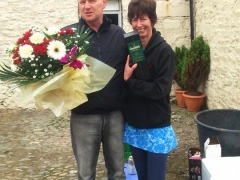 The organisers - Kirsty and David