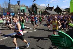 Kenny at the 2014 London Marathon