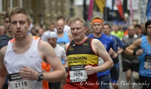 Dunoon Hill Runners' Richie Longster