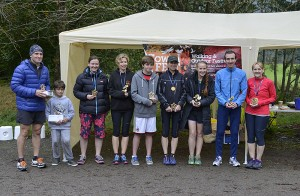 Cowalfest 10K and 5K Trails Races winners