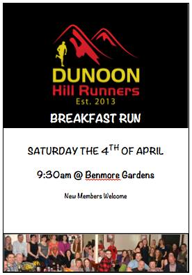 Breakfast Run - 4 April 2015