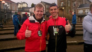 Iain Cairns and Roger Stewart, 1st and 2nd place!