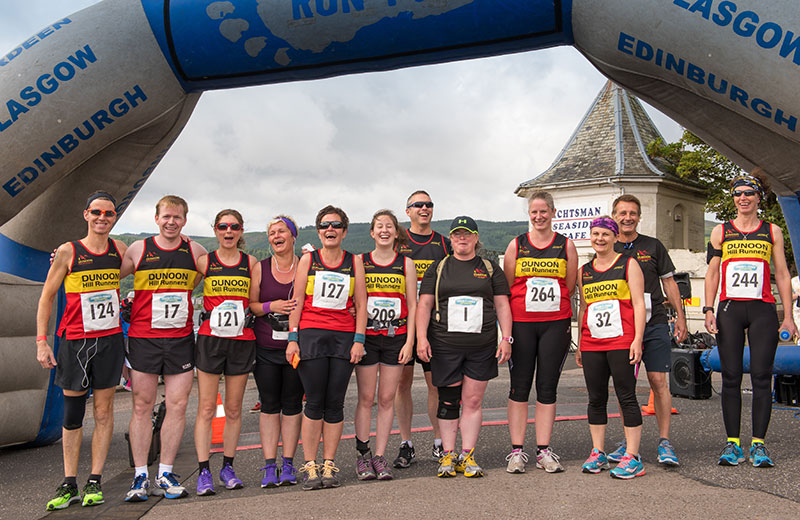 Dunoon Half Marathon - Toward for a Tenner race 2015