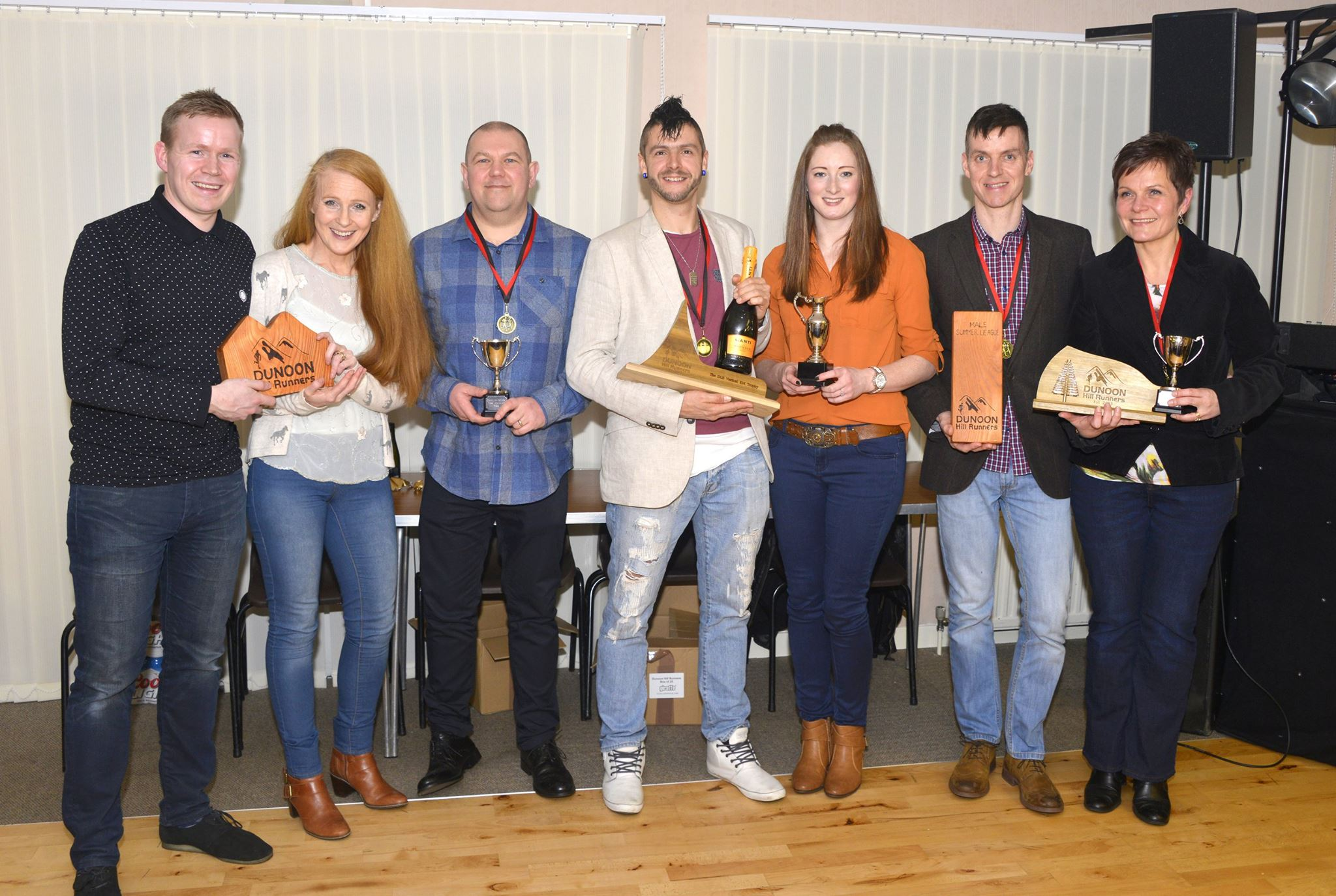The 2015 Dunoon Hill Runners Trophy Winners
