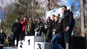 Dunoon Hill Runners - first in Hoka Highland Fling relay race