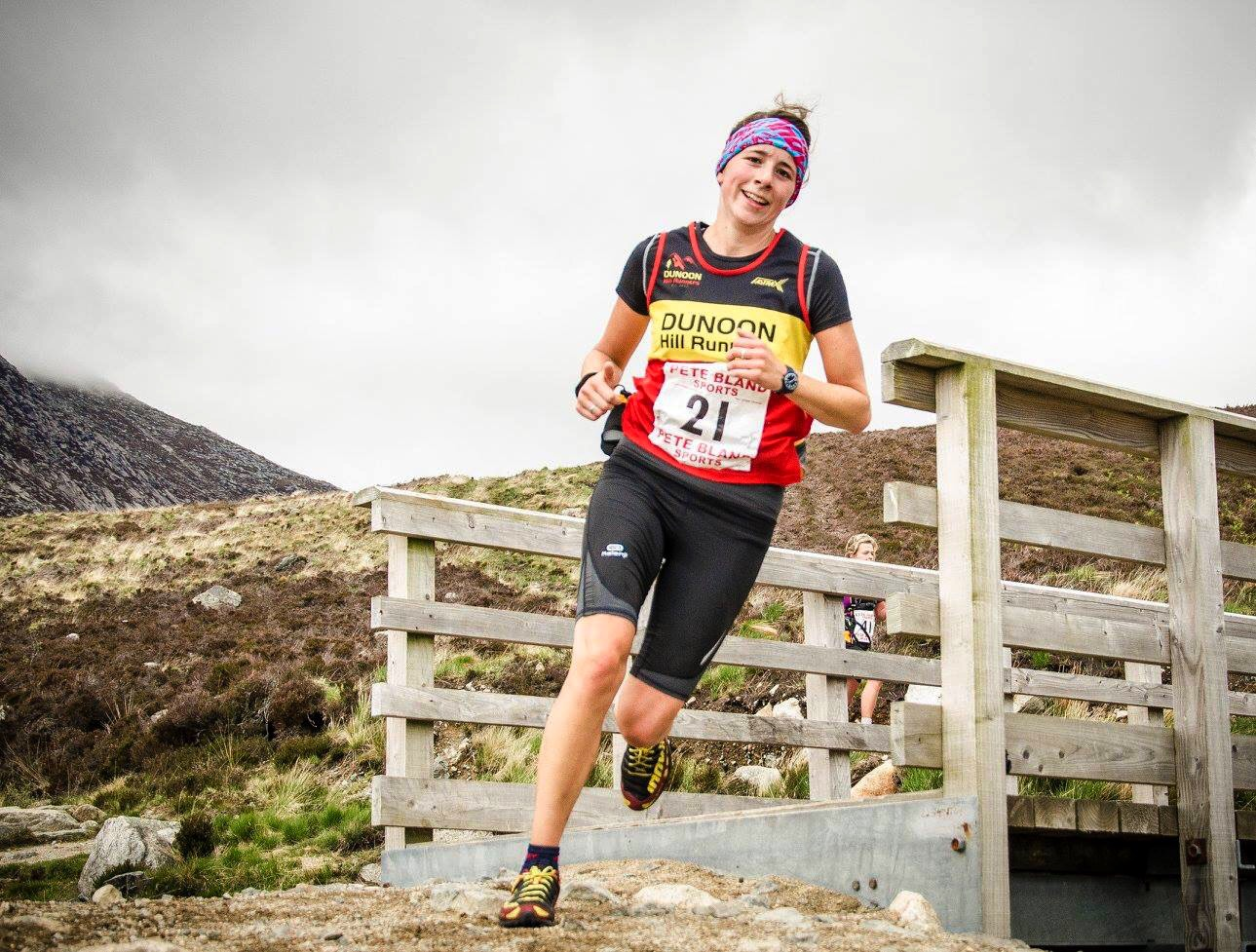 Lucie Noakes, Goatfell Hill Race 2016