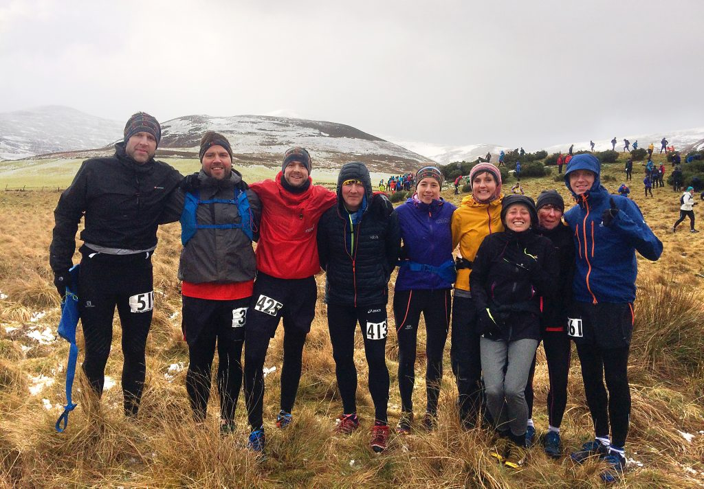 DHR 2017 Carnethy 5 Hill Race competitors