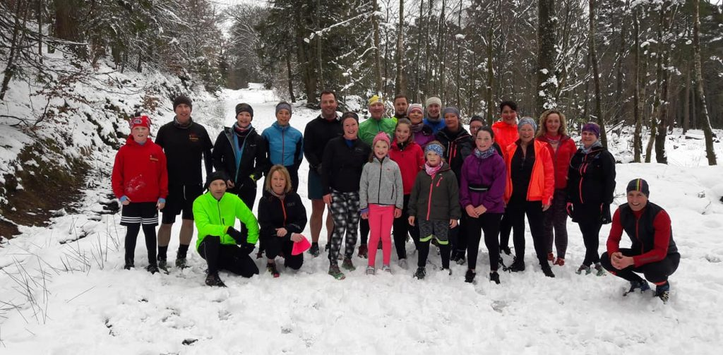 Dunoon Hill Runners Breakfast Run March 2018